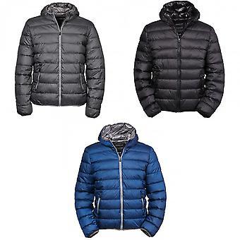 Tee Jays Mens Hooded Padded Zepelin Jacket