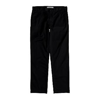DC Worker Relaxed Chino Trousers in Black
