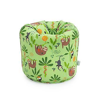 Regenwald Kinder Charakter gefüllt Beanbags Kinder Schlafzimmer Spielzimmer Möbel Bean Bag