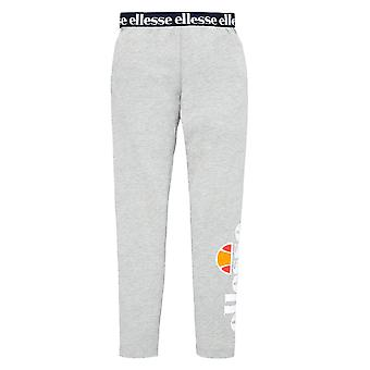 Ellesse Heritage Fabi Junior Kids Girls Legging Tight Trouser Grey