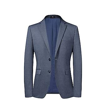 Allthemen Men's Slim Fit Suit Jacket 2 Abotoado Lapel Blazer
