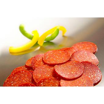 Pizza Plus Frozen Sliced Pepperoni Pizza Topping