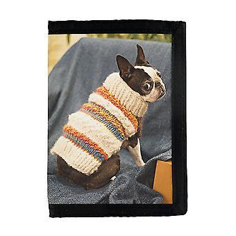 Dog Bostonterrier Wallet