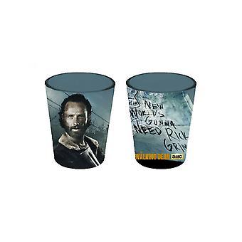 Walking Dead Rick Shot Glass