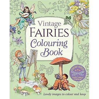 Vintage Fairies Colouring Book by Margaret Tarrant - 9781788887755 Bo