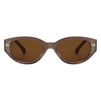A.Kjaerbede ويني نظارات شمسية رمادية فاتحة