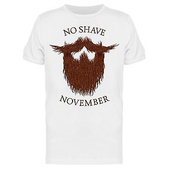 No Shave November Sketch Tee Men's -Image by Shutterstock