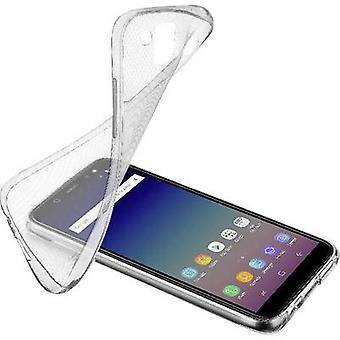 Cellularline SOFTGALJ618T Back cover Samsung Galaxy J6 (2018) Transparant