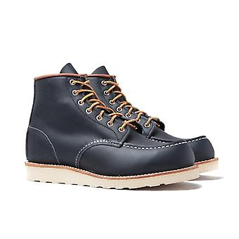 """Red Wing 8859 Classic 6"""" Moc Navy Lederstiefel"""