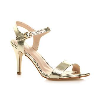 अजवानी महिलाओं के मध्य कम उच्च एड़ी strappy मुश्किल से वहाँ पार्टी शादी प्रोम सैंडल जूते