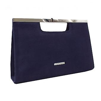 Peter Kaiser Wye Classic Occasion Clutch Bag In Notte Suede