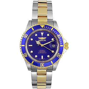 Invicta 8928OB Mens Male Two Tone Stainless Steel 43MM Automatic Analog Watch