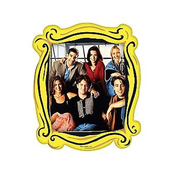 Friends photo frame magnet with photo