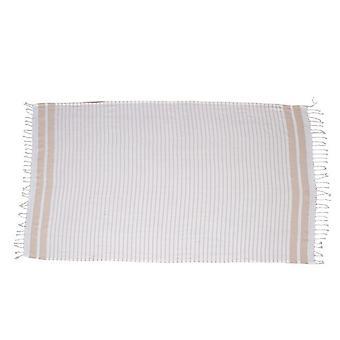 Phoute Aqua Farbe Beige Baumwolle, 90x190cm