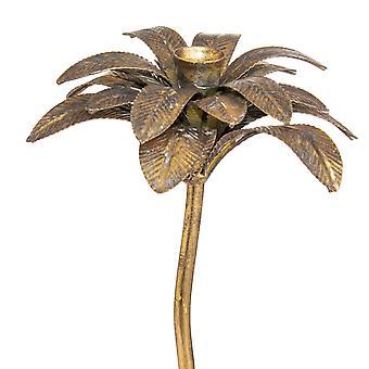 Hill Interiörer Antik Stil Palm Tree Ljushållare