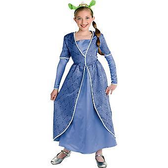 Fiona Shrek barn kostym