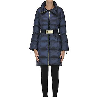 Nenette Ezgl266147 Femme-apos;s Blue Nylon Down Jacket