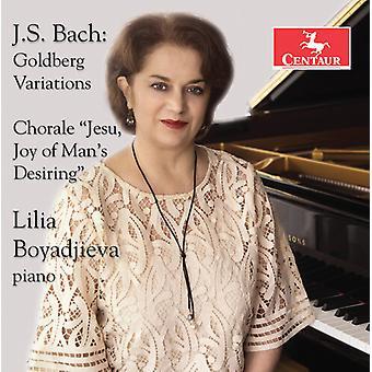 Goldberg Variations [CD] USA import