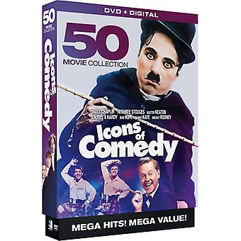Icons of Comedy: 50 Movie Megapack [DVD] USA import