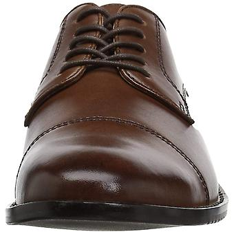 206 Collective Mens Warren Leather Lace Up Dress Oxfords