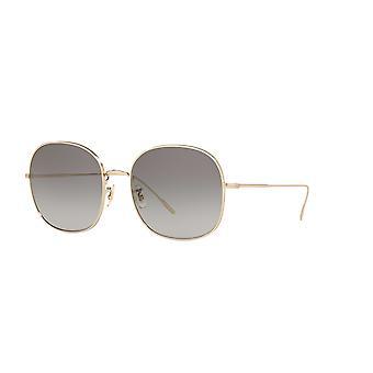 Oliver Peoples Mehrie OV1255S 50353C Mjukt guld / grå gradient solglasögon