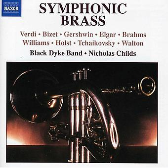 Black Dyke Band/Nicholas Childs - Symphonic Brass [CD] USA import