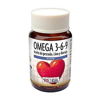 Omega 3 6 9 60 softgels