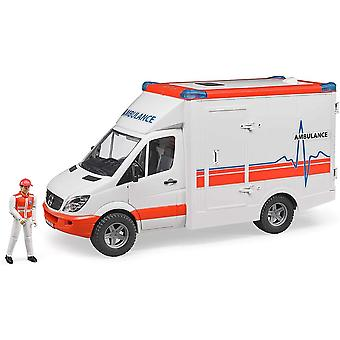 ブルーダー - MBスプリンター救急車 1:16 02536