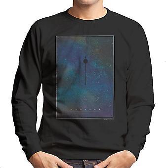 NASA Voyager interplanetaire reizen Poster mannen Sweatshirt