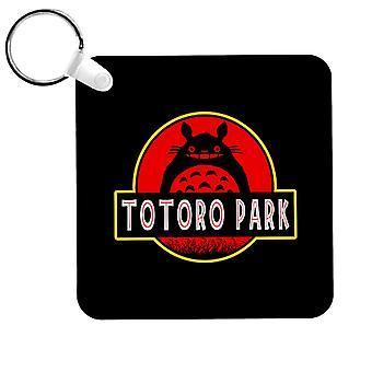 Totoro Park Studio Ghibli Jurassic Park Keyring