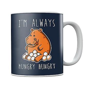 Affamato affamato Hippos tazza
