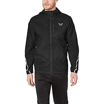 Peak Velocity Men's Standard Emergency Jacket, Black, Medium -  Vine