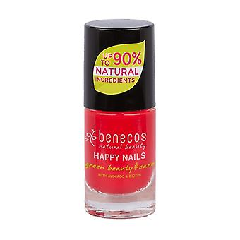 Vernis à ongles rouge flashy (hot summer) 5 ml