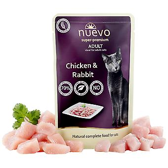 Nuevo About Adult Chicken And Rabbit (Cats , Cat Food , Wet Food)