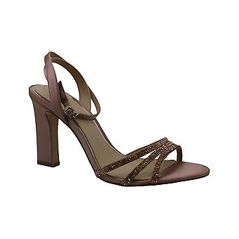 BADGLEY MISCHKA kvinners gnisten stoff åpen tå spesiell anledning muldyr sandaler