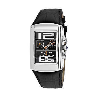 08003-Gslc-04, Jovial Men'S Classic - Black - Quartz Watch