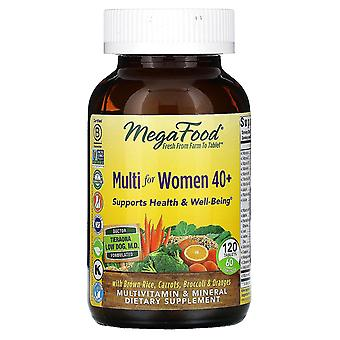 MegaFood, Multi voor Dames 40+, 120 Tabletten