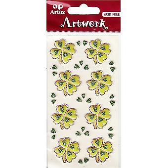 Four Leaf Clover Craft Embellishment By Artoz