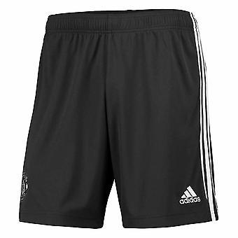 2020-2021 Man Utd Adidas Weg Shorts (Legend Earth)