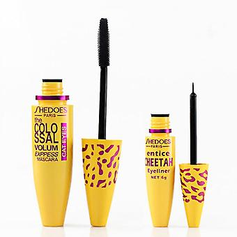 Waterproof, Quick Dry Mascara For Eyelash Extension And Curling Look