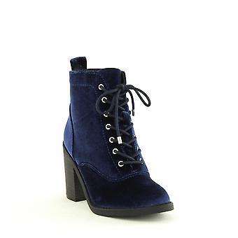 Material Girl | Landrey2 Block Heel Zip up Ankle Boots