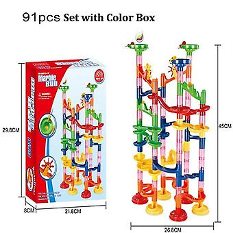 Building Blocks,  Rolling Ball - Funnel Slide Bricks Toy