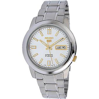 Seiko 5 Gent Watch SNKK09K1 - Stainless Steel Gents Automatic Analogue