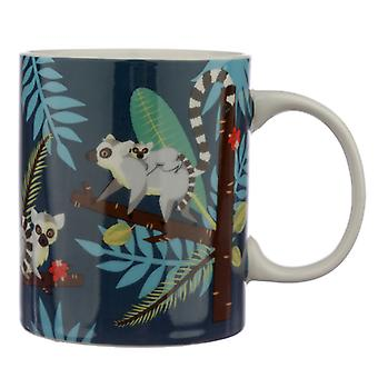 Collectable Porcelain Mug - Spirit of the Night Lemur X 1 Pack