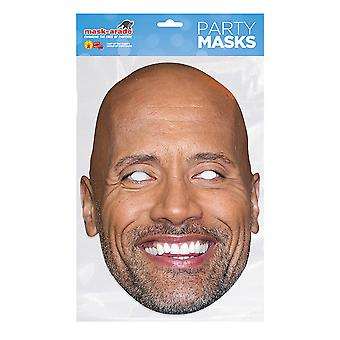 Mask-arade Dwayne Johnson Celebrities Party Face Mask