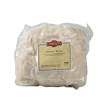 Liberon Cotton Waste 250g LIBCW250G