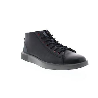 Camper Bill  Mens Black Leather Lace Up Euro Sneakers Shoes