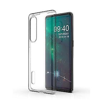 Hull For Oppo Find X2 Pro, High Quality Silicone Protective Cover, Transparent