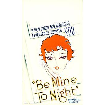Berätta för mig ikväll Magda Schneider på oss affisch konst 1932 film affisch Masterprint