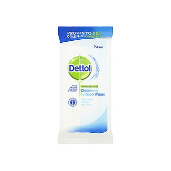 Reckitts Dettol Anti-Bacterial Wipes x 72